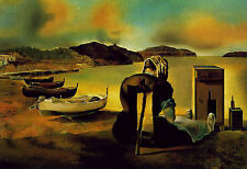 Framed Print - Salvador Dali Weaning of Furniture Nutrition 1934 (Replica Art)