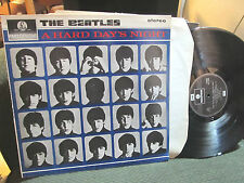 A HARD DAY'S NIGHT THE BEATLES STEREO NM LP PCS 3058 parlophone uk import rare!!