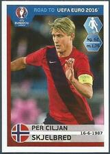 PANINI ROAD TO UEFA EURO 2016- #187-NORWAY-PER CILJAN SKJELBRED