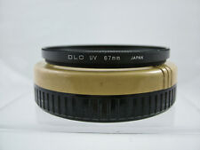 DLC 67MM UV HAZE CAMERA LENS FILTER (MINT-)