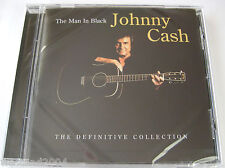 Johnny Cash - Definitive Collection - CD NEW & SEALED  The Man In Black Best of