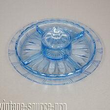 alte Pressglas Menagere Bonboniere Servierschale Deckelschale Art Dèco 40er J.