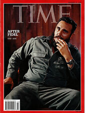 Time Magazine Fidel Castro Dead At 90 1926-2016 After Fidel December 2016