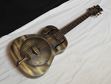 DEAN Heirloom BRASS acoustic round-neck resonator GUITAR new - Slide - B-stock