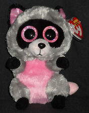 TY BEANIE BOOS - ROCCO the RACCOON  - MINT with MINT TAGS