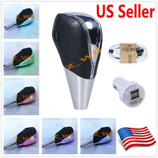 TOUCH MOTION ACTIVATED LED LIGHT Shift knob Universal shifter shift gear knob