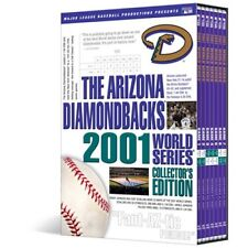 Arizona Diamondbacks 2001 World Series Brand New 7-Disc DVD Box Set