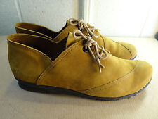 Arche LN Daisy Nubuck Leather Lace up Shoe Women Size 41 / 10M Made in FRANCE