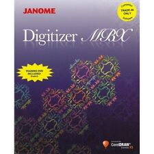 Janome Digitizer MBX 4.0 Embroidery Digitizing Embroidery Software New