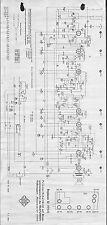 Telefunken Service Schaltplan für Bajazzo U   1954