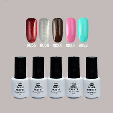 5 Flasche BORN PRETTY Soak Off One-step Gel 5ml Nagellack 6055/56/38/35/32