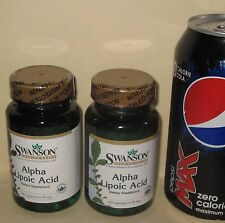 TWO, Alpha Lipoic Acid, from Swanson     240 capsules (total), 50 mg each