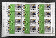 SHEET STAMPS BRAZIL WORLD CUP CHAMPIONSHIP 2002