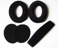 FS Replacement Ear Pads Foam Cushion Earpads For Sennheiser PC350 360 HD515 518