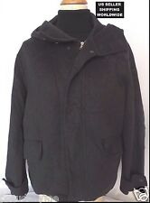 Winter Fantastic 100% SOFT HEAVY WOOL Hooded John Varvatos Coat *Make An Offer!*