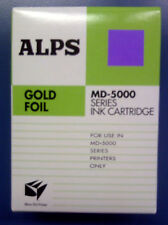 Alps MD Printer Ink Cartridge - Gold Foil 105148-00