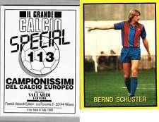 Schuster Barcelona Rare Italian Issue 1988 Football! New! Grande Calcio n.113