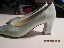 """Women's Vintage dyed Powder Blue Pumps size 7 1/2 pre-owned 2 3/4"""" heels"""