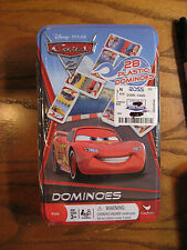 Disney/ Pixar Cars 2 - Dominoes with Collectible Tin