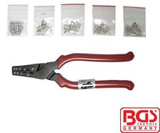 BGS Tools Crimping Tool For Cable End Sleeves Incl. 150 Sleeves 1430