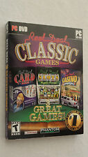 BRAND NEW Sealed Reel Deal Classic Games - 3 Great Games (PC, 2008)