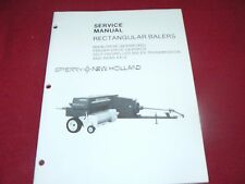 New Holland Rectangular Baler Service Manual WPNH