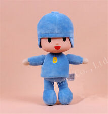"Blue Pocoyo Lovely Soft Plush Stuffed Figure Toy Doll 10"" kid gift"