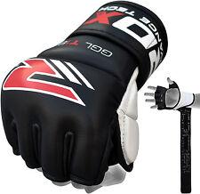 Authentieke RDX Punch Bag G 7oz Grijphandschoenen Voor UFC En MMA Black NL L