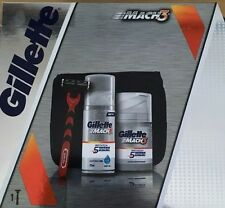 Gillette Mach 3 Razor Set With Wash Bag (ideal for travelling)