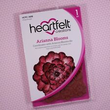 "Heartfelt Creations Cling Rubber Stamp Set Arianna Blooms, 3.75"" x 4"" HCPC3608"