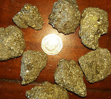 1 Piece Bright Pyrite Fools Gold Crystals Large Chakra Reiki Healing Fire Stone