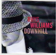 (EQ616) Rhys Williams, Downhill - 2013 DJ CD