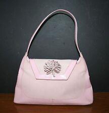 Leather Purse Handbag Shoulder Bag Sling Pink NATURALIZER  Made in Brazil