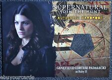 Supernatural Season 4-6 M10 Genevieve Cortese Ruby Wardrobe Costume Trading Card