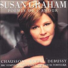 Susan Graham: Poemes de l'Amour ~ New CD (Mar-2005, Warner Classics (USA))