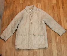 Casuals Beige/Crema Color Puffy Abrigo Acolchado-tamaño 10/12