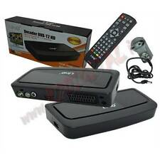 DECODER DIGITALE DVB-T2 DH1692 LETTORE MKV DiVX DVD VIDEO FHD RICEVITORE TV