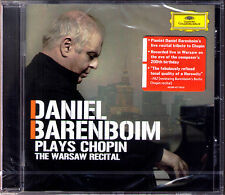 Daniel BARENBOIM The Warsaw Recital CHOPIN Sonata No.2 Fantasia Barcarolle DG CD