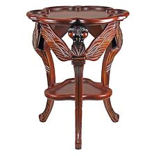 KS2062 Art Nouveau Dragonfly Occasional Table - Hand Carved Emile Gallé Replica!