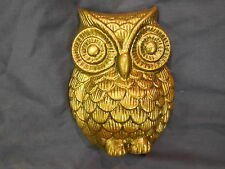 Small Decorative Owl Concrte, Cement or Plaster Patio Garden Mold 7231