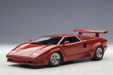 1/18 AUTOART Lamborghini Countach 25th Anniversary Rot  +kostenlose1/18 Vitrine