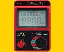 High Voltage 2500V Insulation Resistance Tester Meter Megger Range 49.9GOhm