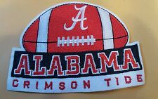 """Alabama Crimson Tide Vintage Embroidered Iron On Patch Football Champions 4x3"""""""