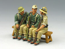 King (and) & Country AK044 - AK Vehicle Passengers (3-man set) - Retired