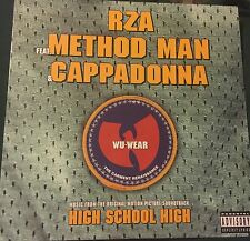 "RZA METHOD MAN CAPPADONNA Wu-Wear/Get Down For Mine 12"" + ps Big Beat"