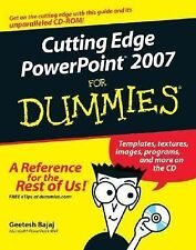 Cutting Edge PowerPoint 2007 For Dummies-ExLibrary