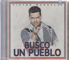 SEALED - Victor Manuelle CD Busco Un Pueblo INCLUDES 15 Tracks BRAND NEW