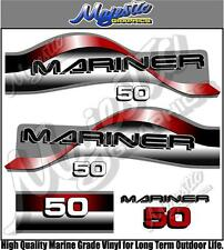 MARINER - 50hp - OUTBOARD DECALS