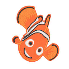 """Finding Nemo Movie Nemo Fish Characters Embroidered Iron/Sew On Patch 2.9"""""""