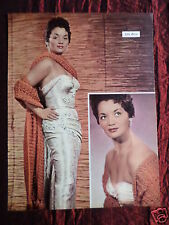 LITA ROZA - MUSIC ARTIST -1 PAGE PICTURE - CLIPPING / CUTTING